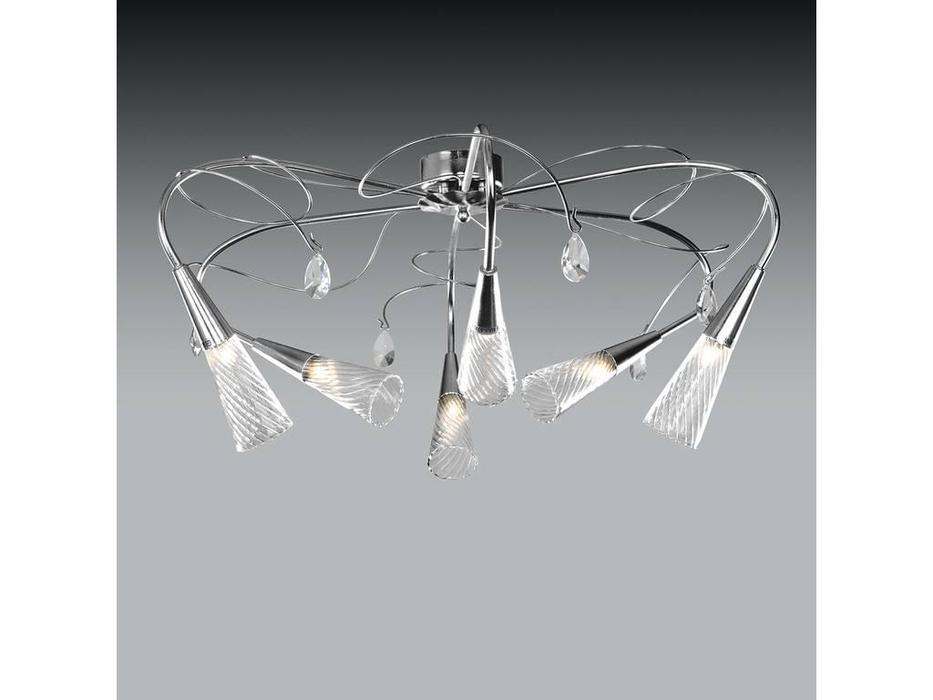 Lightstar: Aereo: люстра  6х40W G9 (хром)