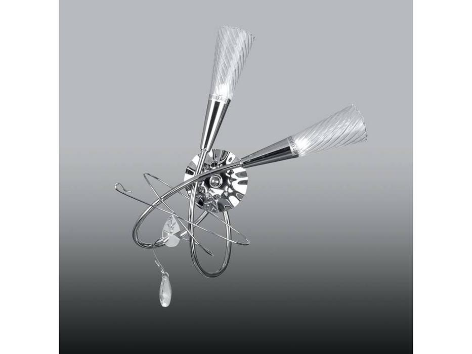 Lightstar: Aereo: бра  2х40W G9 (хром)
