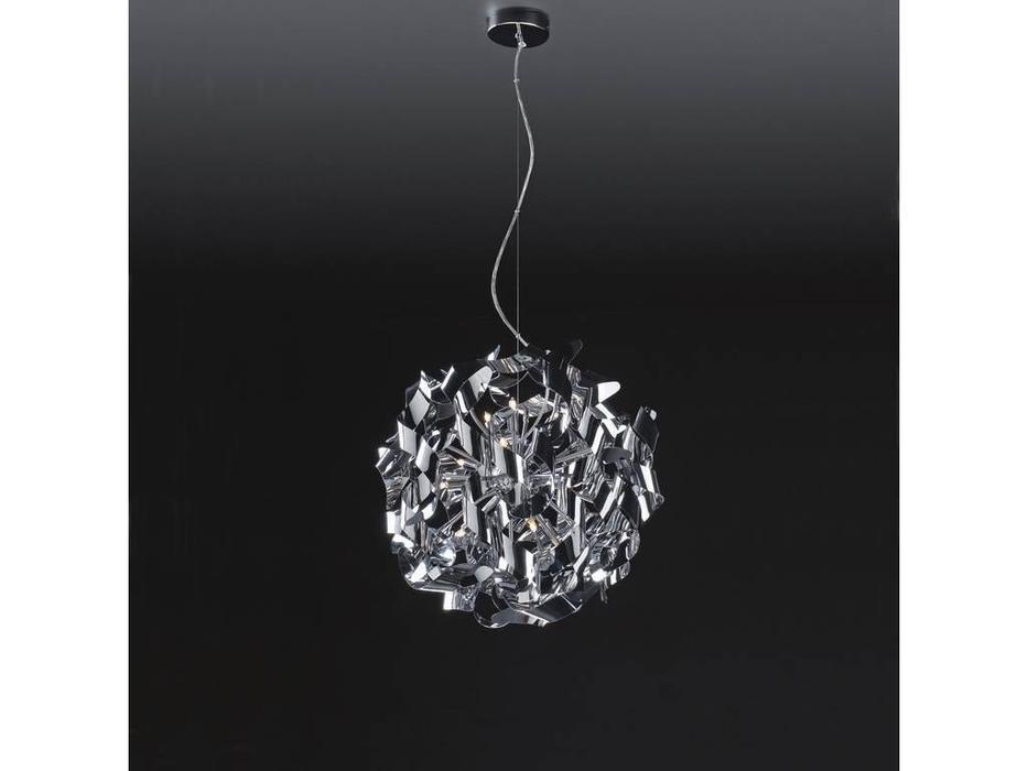 Lightstar: Turbio: люстра подвесная  12х40W G9 (хром)