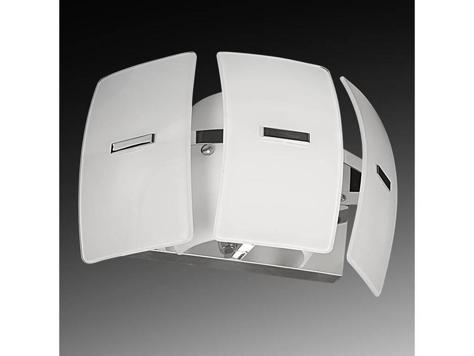 Lightstar: Lamella: бра  1х40W E14 (хром, белый)