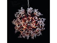 Lightstar: Medusa: люстра подвесная  18x40W (кофе)