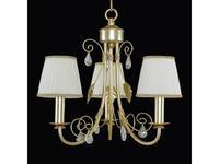Lightstar: Modesto: люстра 3х40W E14   (золото)