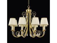 Lightstar: Modesto: люстра 8х40W E14   (золото)