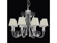 Lightstar: Modesto: люстра 8х40W E14   (серебро)