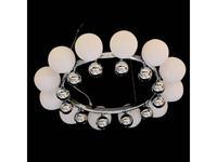 Lightstar: Sferetta: люстра подвесная  12х40W G9 (хром, белый)