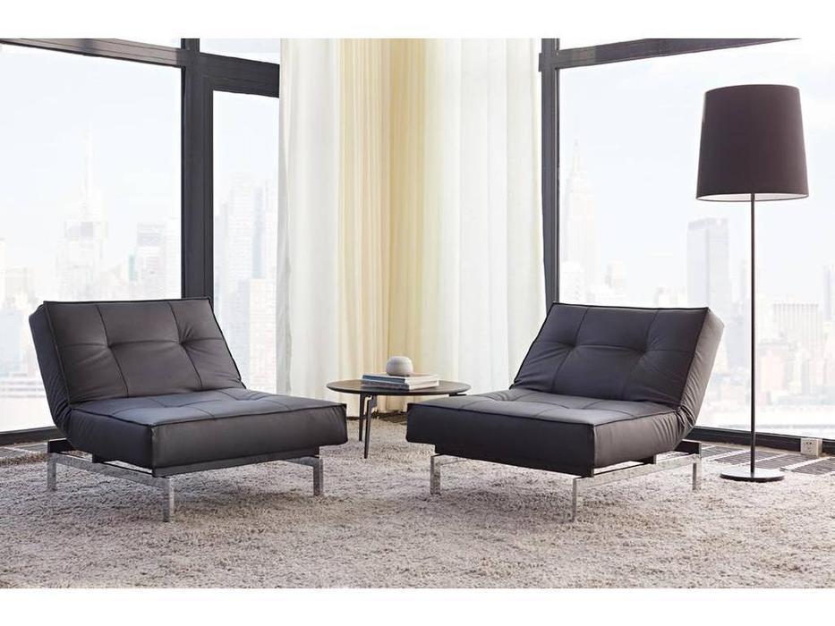 Innovation: Splitback: кресло с хромированными ножками