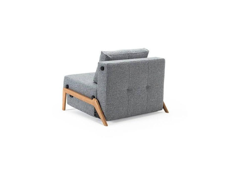 Innovation: Cubed: кресло-кровать тк.528 ножки дерево