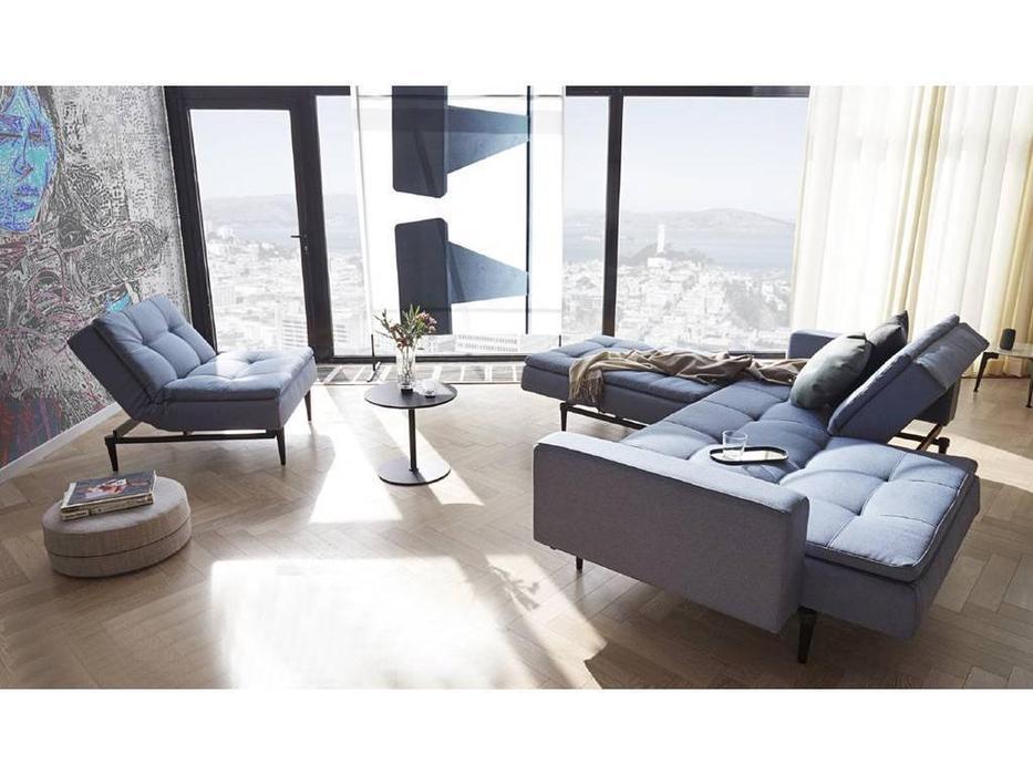 Innovation: Dublexo: комплект мягкой мебели с деревянными ножками styletto
