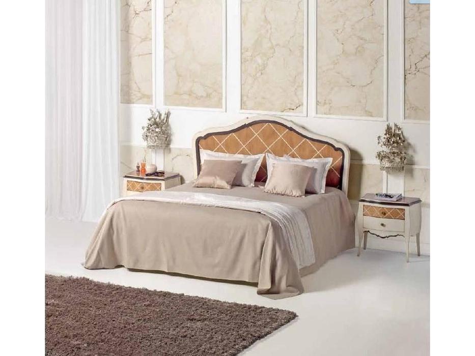 AM Classic: Juliette: кровать 160х200  (крем, вишня)