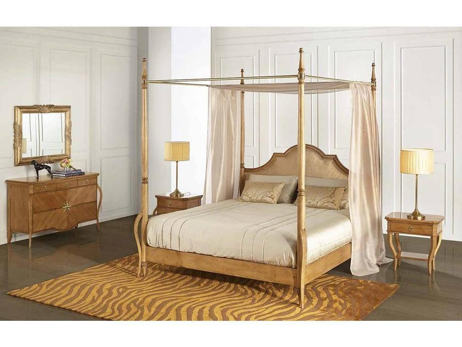 AM Classic: Liberty: кровать 180х200  (amber italiano brilho, T85)