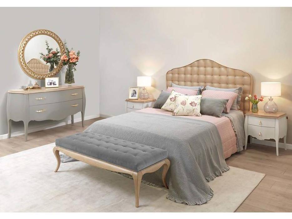 AM Classic: Juliette: кровать 180х200  (беж)