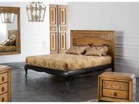 AM Classic: Versus: кровать 160х200  (вишня, черный)