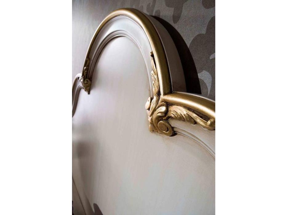 DeMiguel: Toscana: кровать 160х200  (слоновая кость, золото)