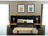 DeMiguel: Gold Edition: изголовье кровати  (черный, золото)