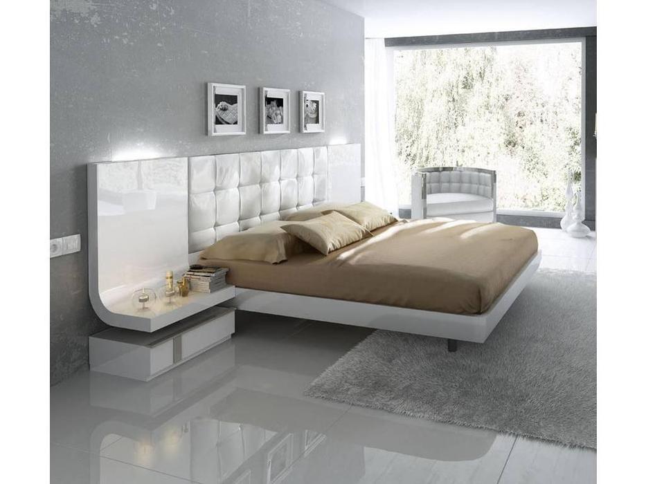 Fenicia Mobiliario: Granada: кровать 180х200  (белый)