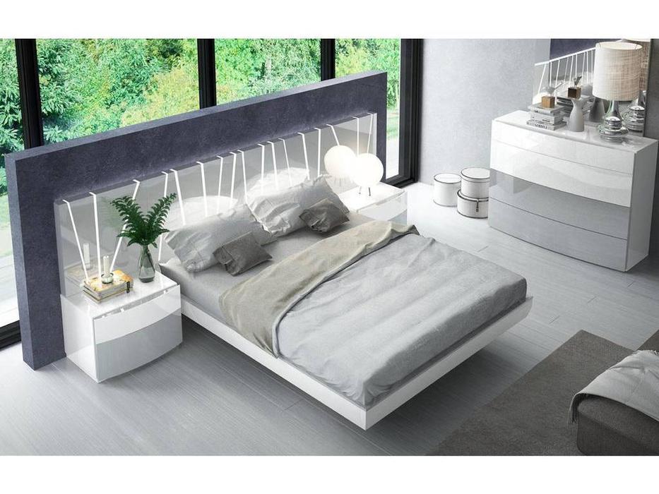 Fenicia Mobiliario: Vanessa: спальная комната (белый, серый)