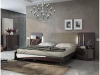 Fenicia Mobiliario: Barcelona: кровать 180х200  (шоколад)