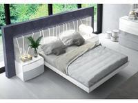 Fenicia Mobiliario: Vanessa: кровать 180х200  (белый, серый)