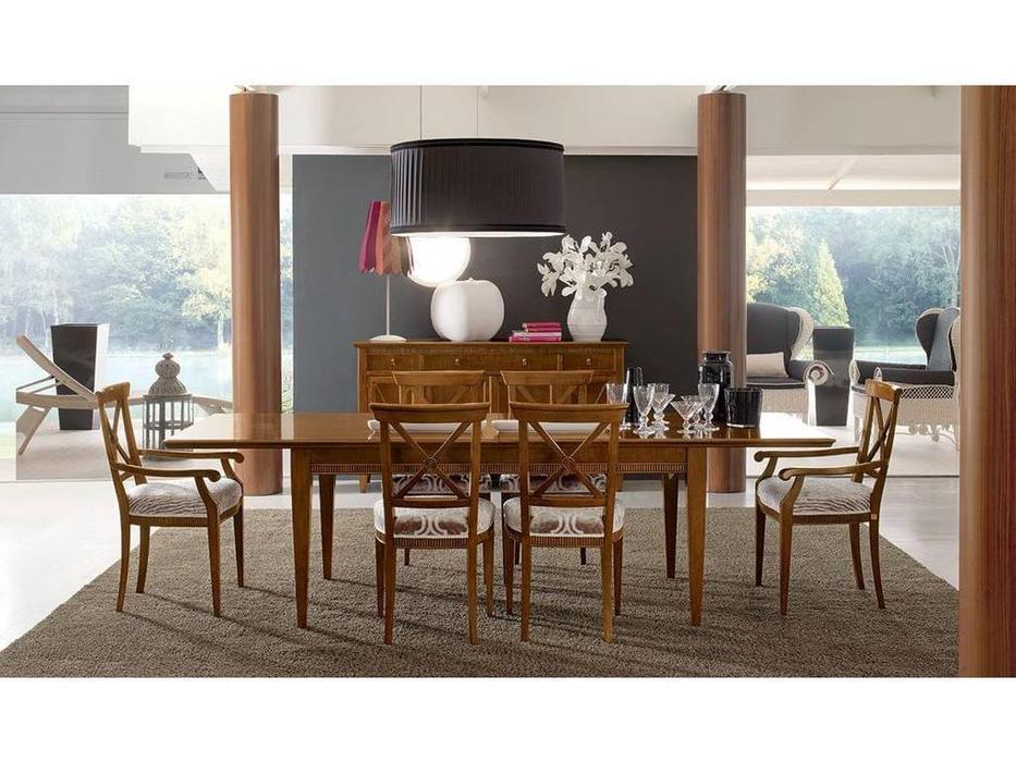 Tosato: Desideri: стол обеденный раскладной  (F98-noce non Battuto)