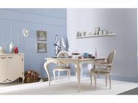 Tosato: Armonie: стол обеденный раскладной  (F37-camelia, кремовый)