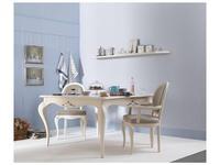 Tosato: Armonie: стул с подлокотниками  (F37-camelia, кремовый)