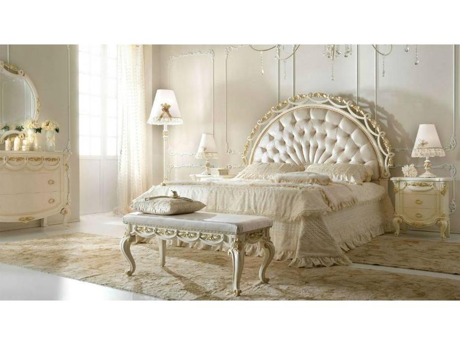 Antonelli Moravio: Belveder: кровать Charme 180х200 (ткань)