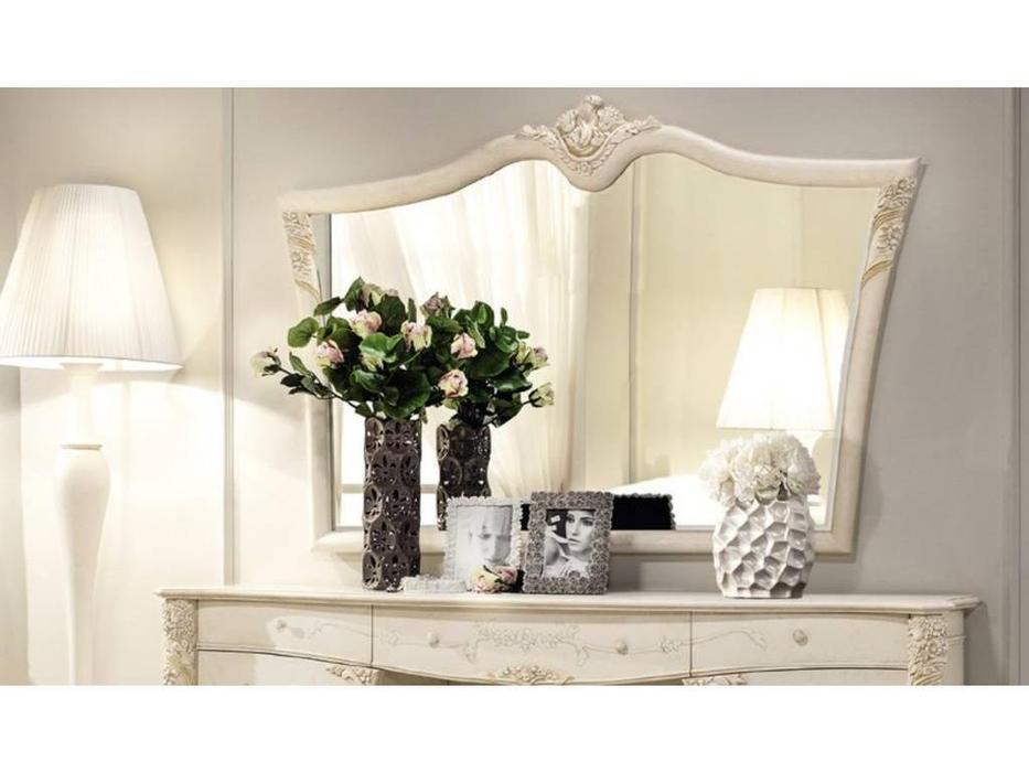 Antonelli Moravio: Vittoria: зеркало к туалетному столу  (слоновая кость)