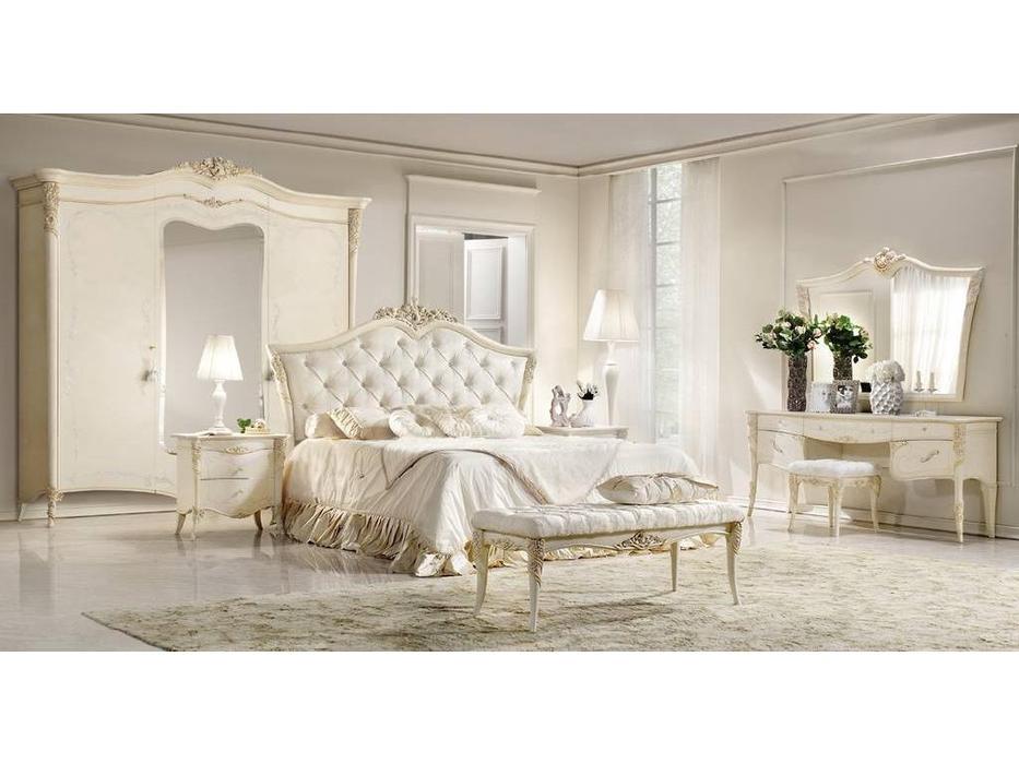 Antonelli Moravio: Vittoria: кровать 170*200  (слоновая кость)