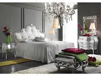 Antonelli Moravio: Penelope: кровать 180х200 кожа