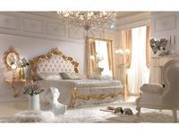 Antonelli Moravio: Atena: кровать 200х200 ткань