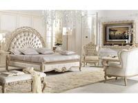 Antonelli Moravio: Belveder: кровать Charme 170х200 (ткань)