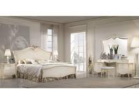Antonelli Moravio: Vittoria: кровать 180*200  (слоновая кость)