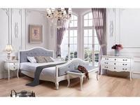 ESF: спальная комната (белый, ткань)