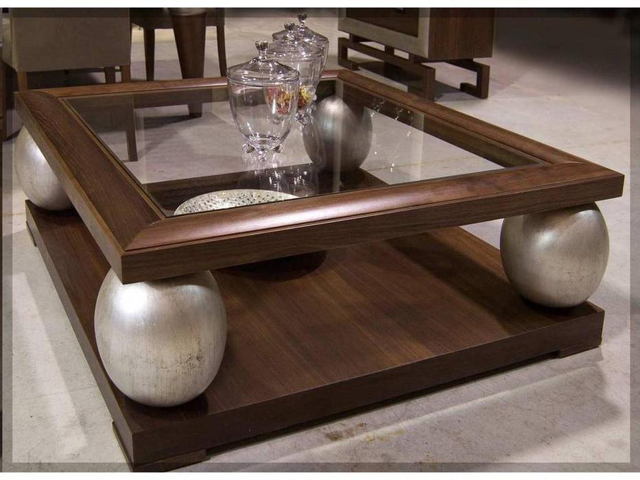 DeMiguel: Brera: стол журнальный  (шпон 107, золото 115)
