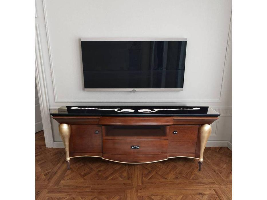 DeMiguel: Gatsby: тумба под телевизор  (орех)