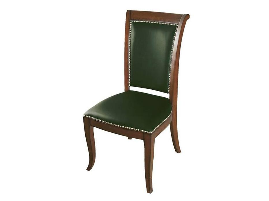Ришар: стул  (черешня, зеленый)