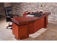 Шен-Жен: Беринг: стол руководителя  (черешня, кожа черная)