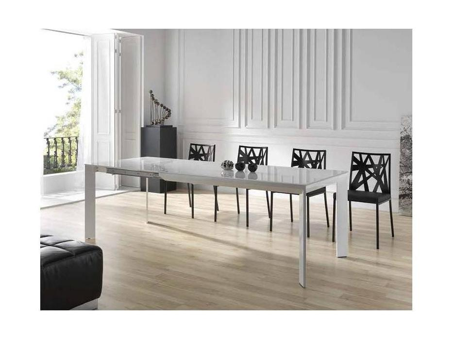 RamiroTarazona: URBAN: стол обеденный раскладной (blanco, aluminio)