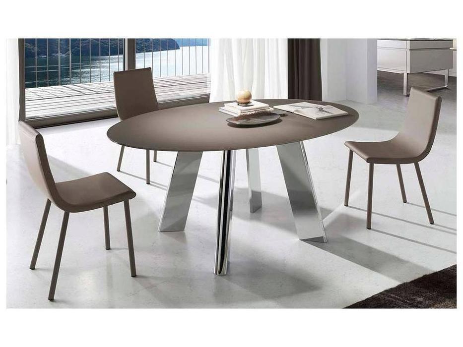 RamiroTarazona: BOHEME: стол обеденный раскладной (mink, cromo)