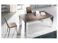 RamiroTarazona: NEW YORK: стол обеденный раскладной (mink, cromo)
