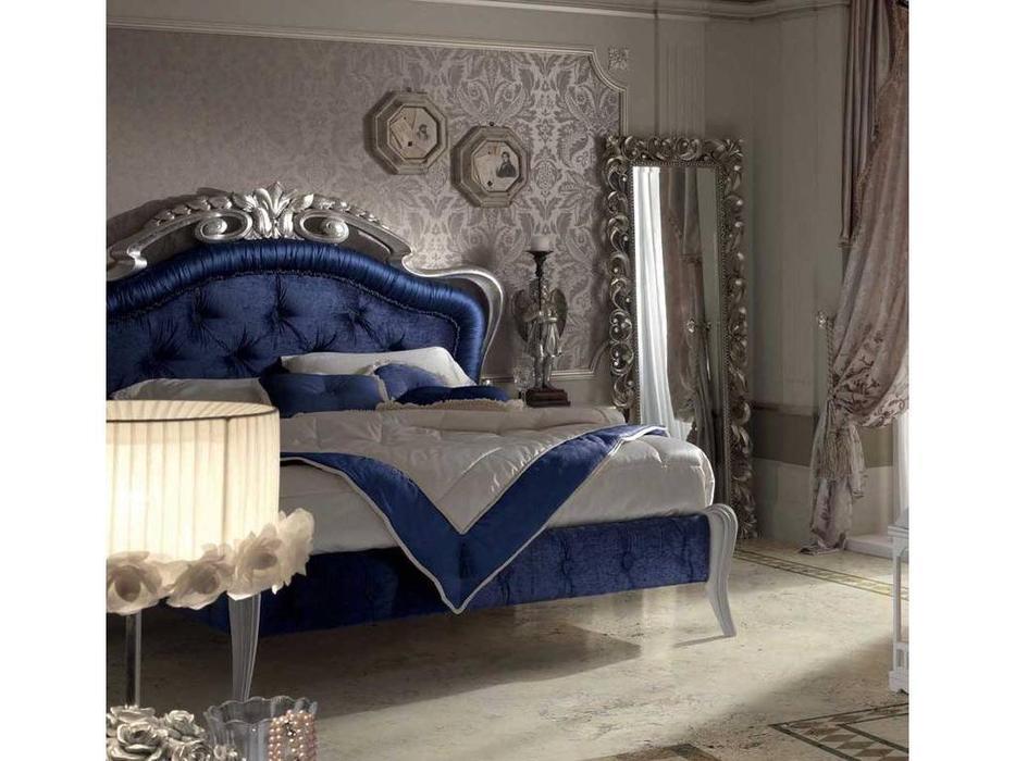 Stilema: Belle Epoque: кровать двуспальная  160x200 (серебро матовое)