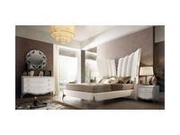 Stilema: St.Tropez: кровать 180х200  (белый перламутр)