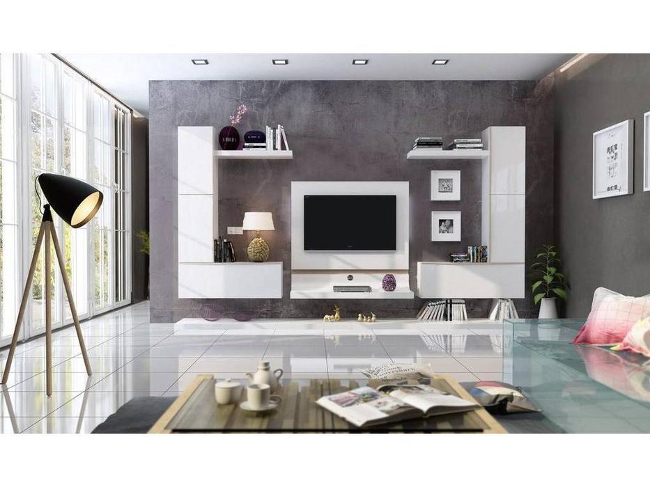 Fenicia Mobiliario: Fenicia: стенка в гостиную  (белый)