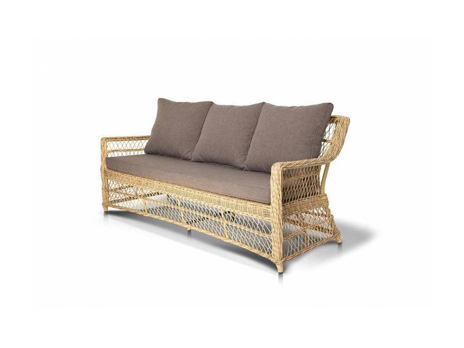 4SIS: Гранд Латте: диван 3 местный  (соломенный)