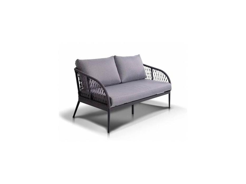 4SIS: Канны: диван 2 местный  (серый)