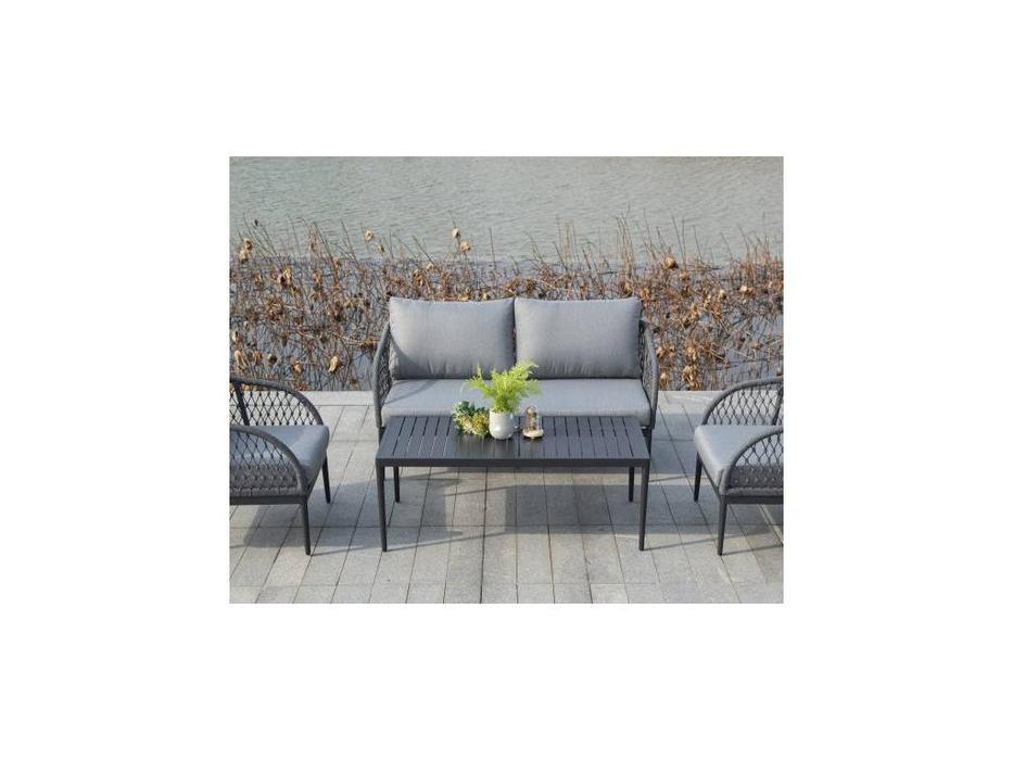 4SIS: Канны: стол журнальный  (серый)