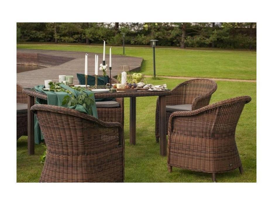4SIS: Равенна: кресло садовое  (темно-коричневый)