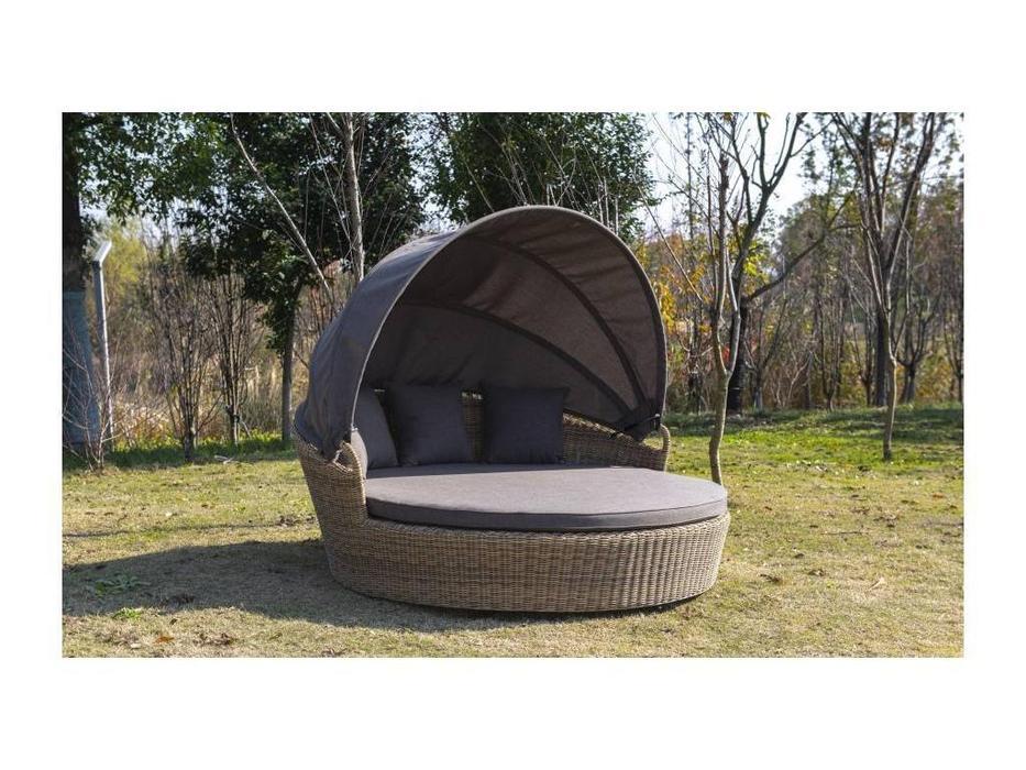 4SIS: Стильяно: кровать круглая  (соломенный)