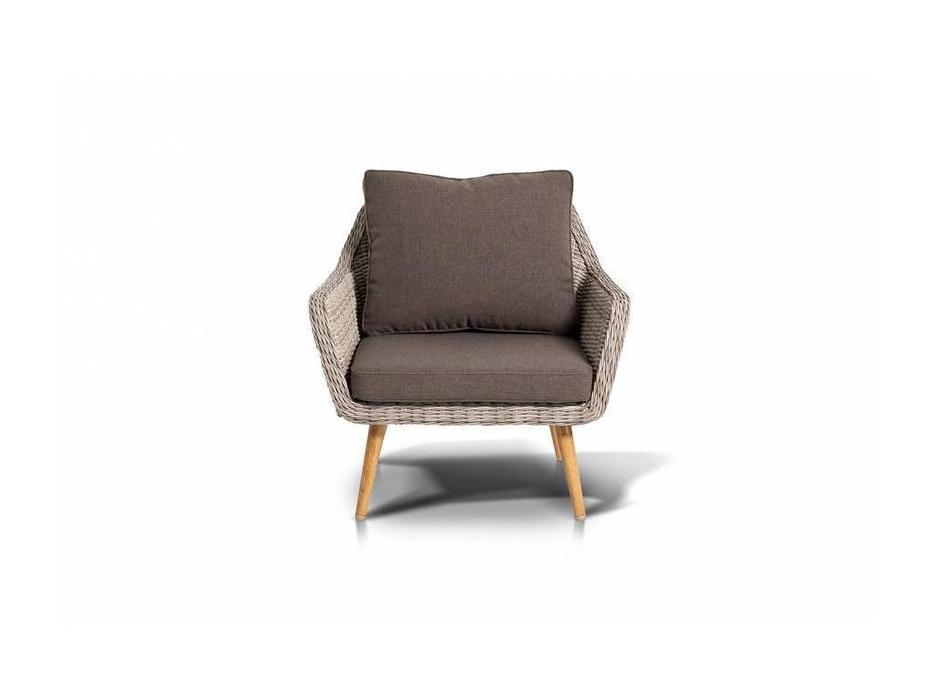 4SIS: Прованс: кресло  (белый, серый)