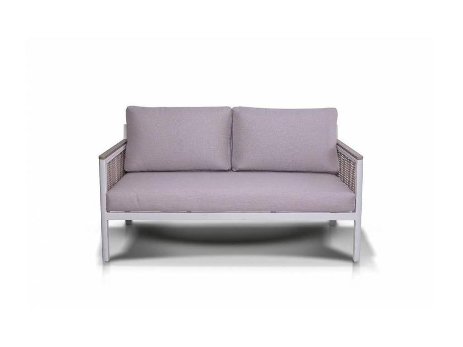 4SIS: Сан Ремо: диван 2 местный  (белый, серый, бежевый)